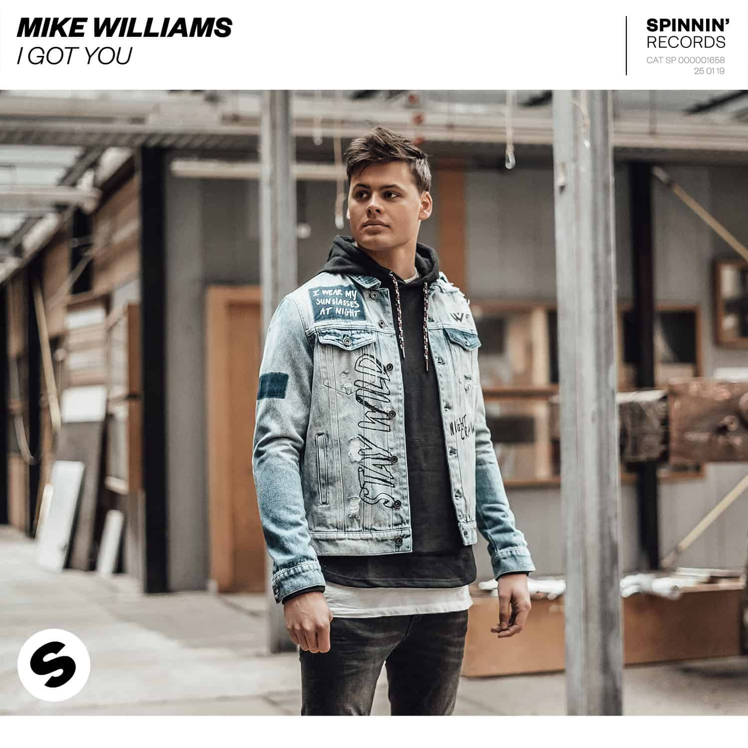 Mike Williams says 'I Got You' on Spinnin' Records
