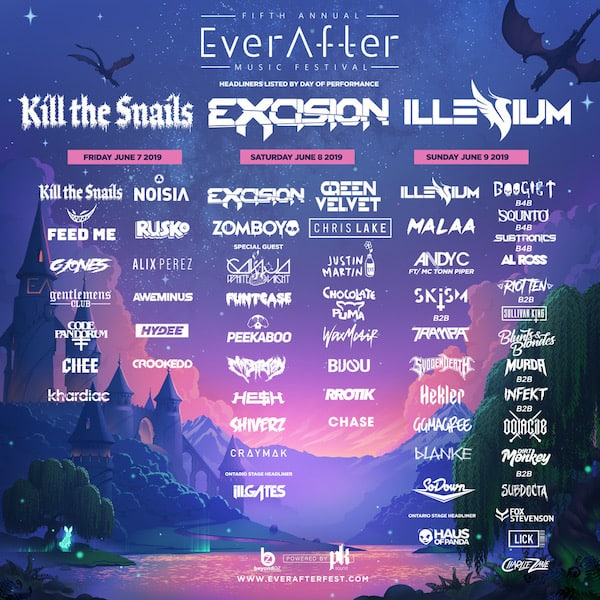 Ever After Music Festival 2019 Lineup