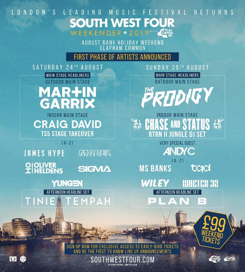 South West Four 2019