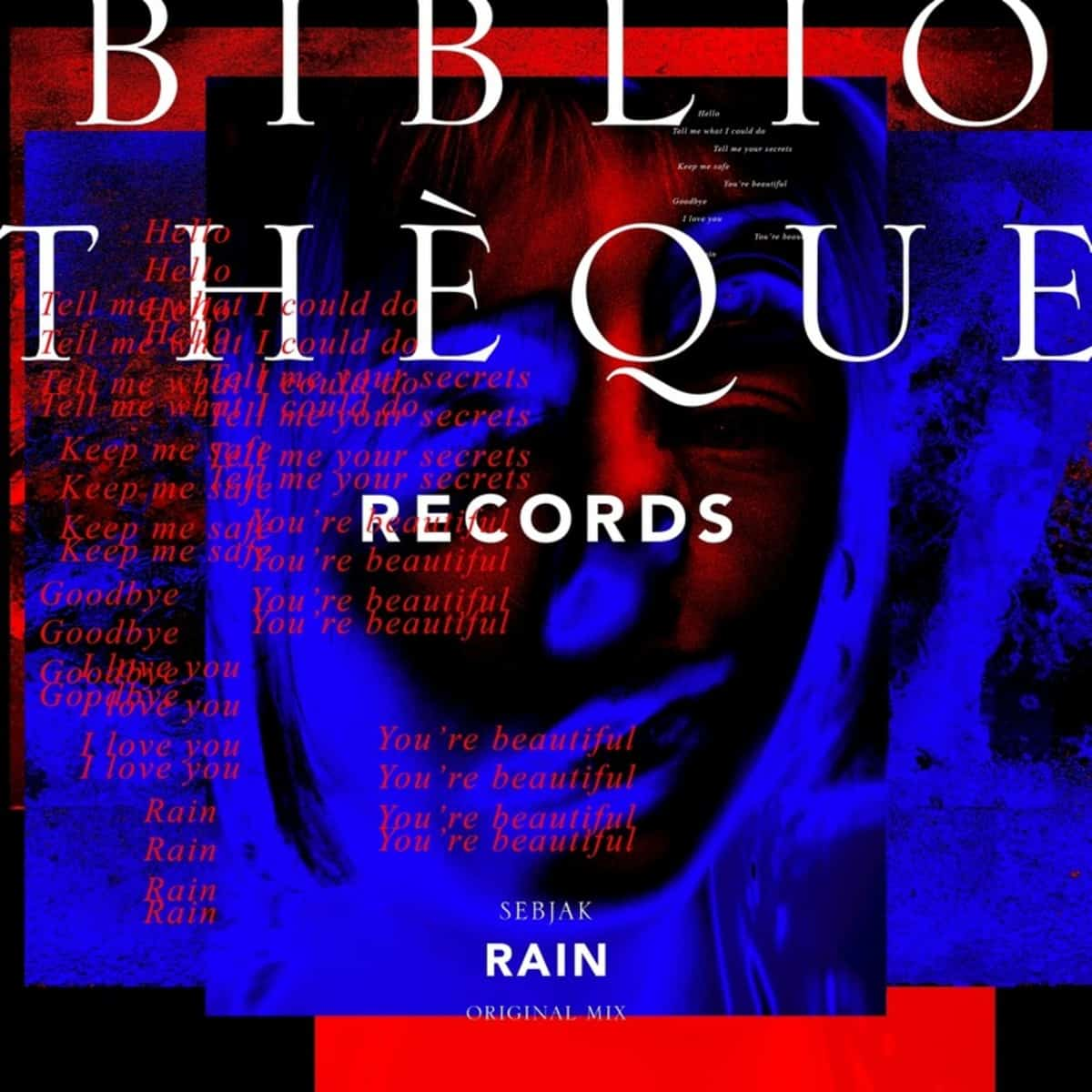 "Sebjak kicks off 2019 with ""Rain"" on Bibliothèque Records"
