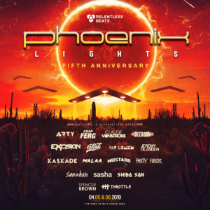 d1ac5995cf27 Phoenix Lights Festival 2019  First lineup announced
