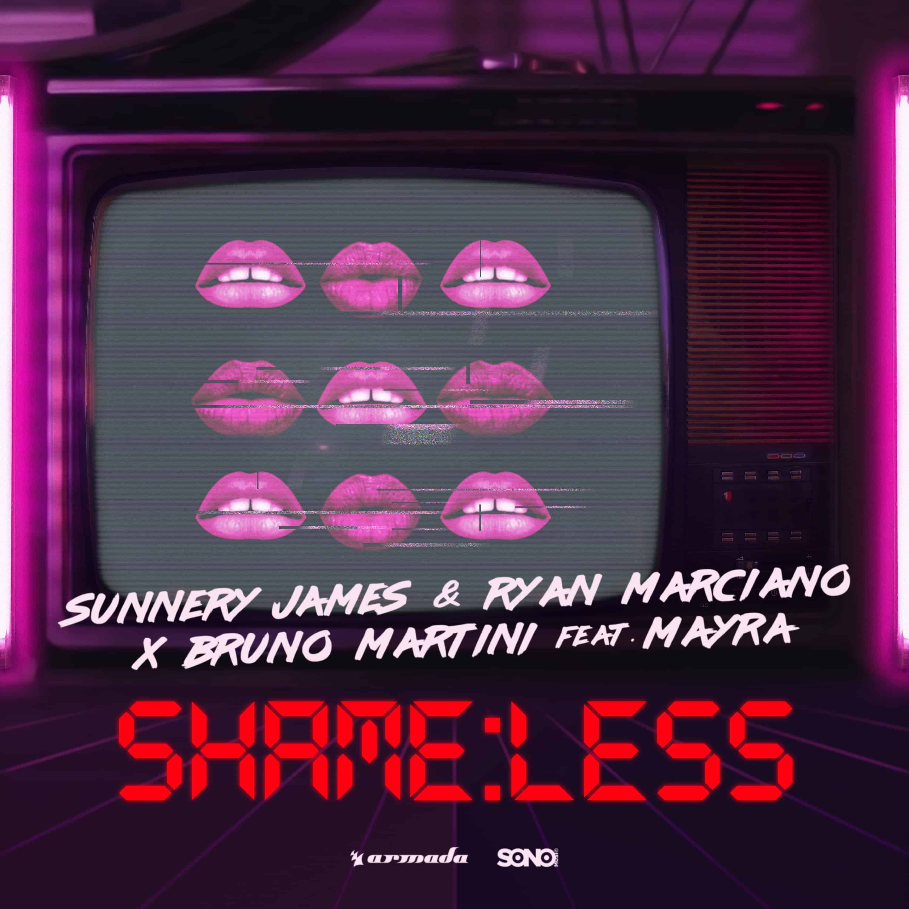 Sunnery James & Ryan Marciano and Bruno Martini new song: Shameless