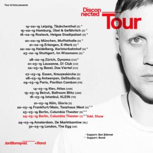 European Disconnected album tour