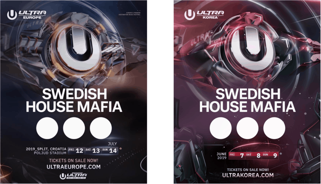 Swedish House Mafia announce their return to ULTRA 2019