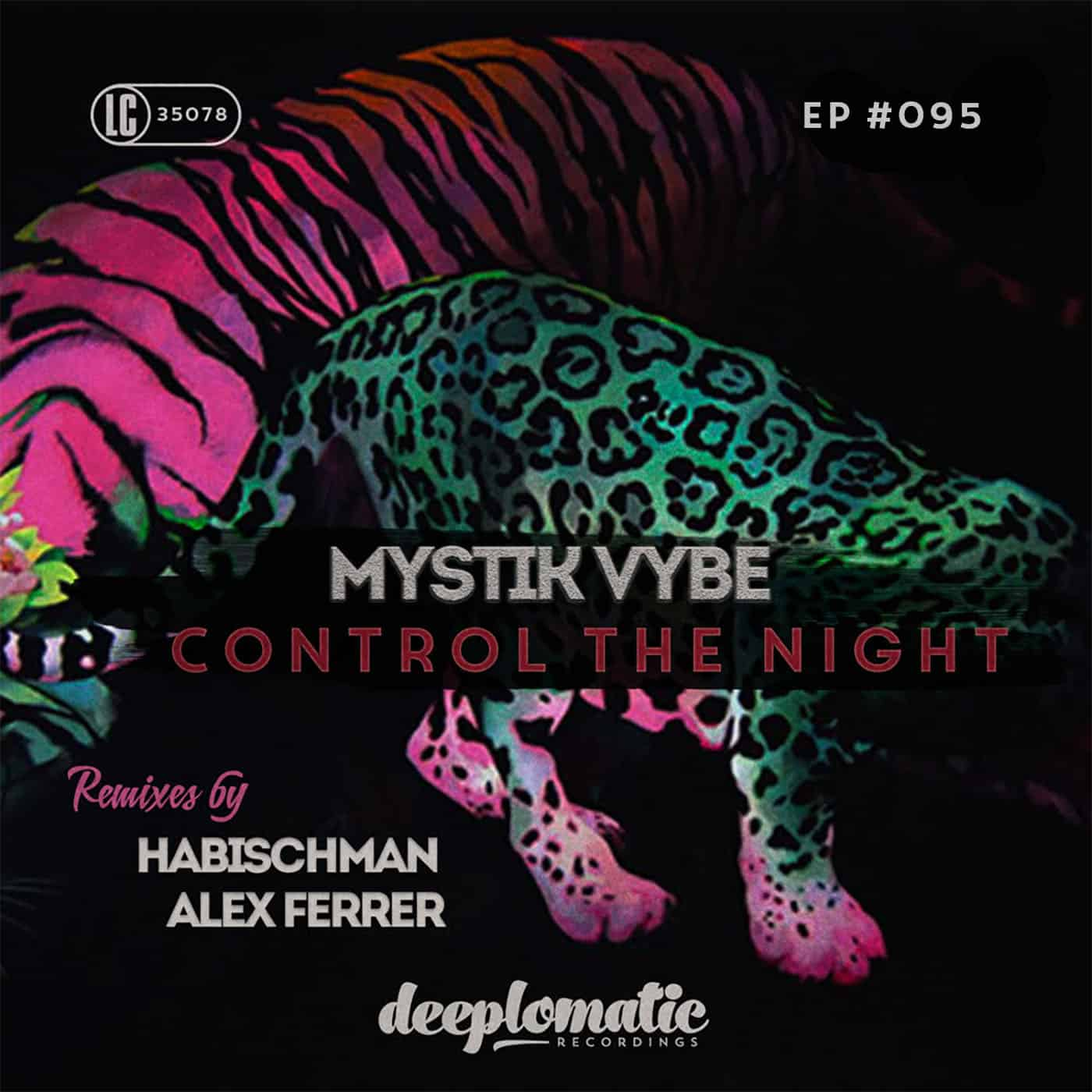 """Habischman & Alex Ferrer remix new Deeplomatic """"Control The Night EP"""" by Mystik Vybe"""