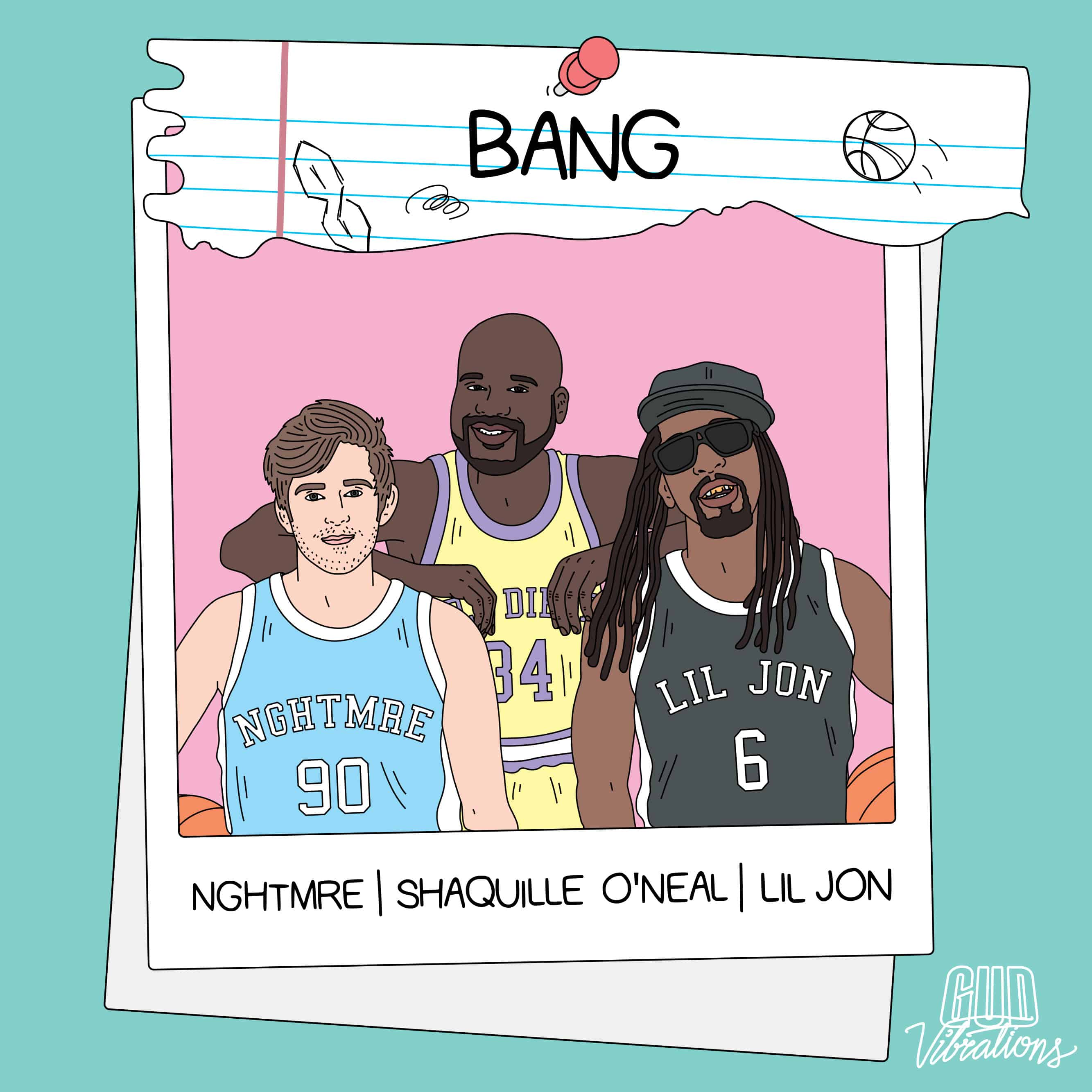 NGHTMRE, Shaquille O'Neal & Lil Jon release 'BANG'