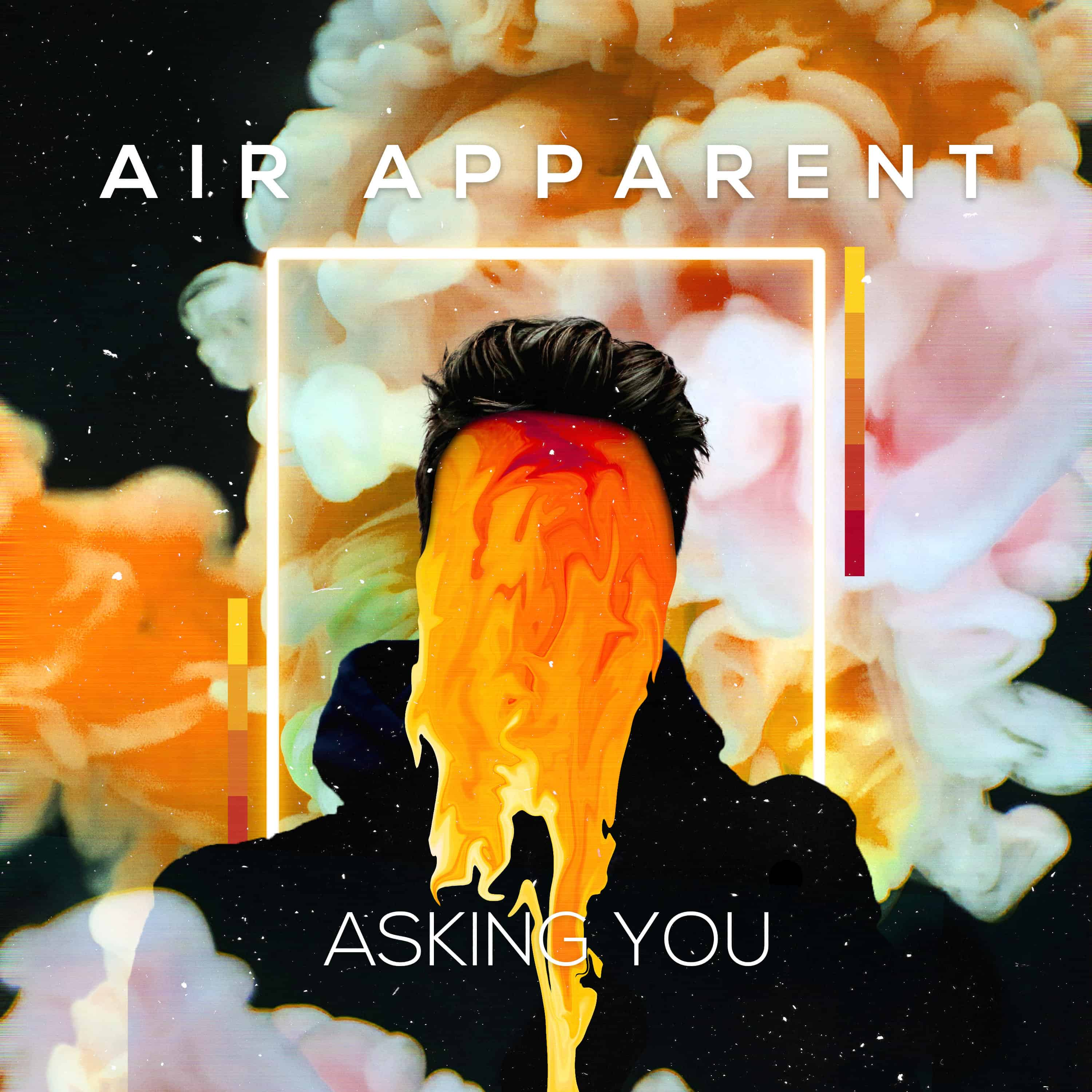AIR APPARENT as he has just released his lush synth filled track 'Asking You'