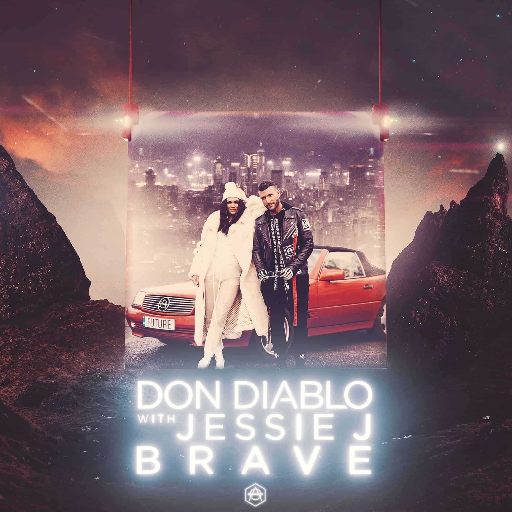 "Don Diablo Joins Forces With Jessie J To Release Courageous New Single ""BRAVE"""