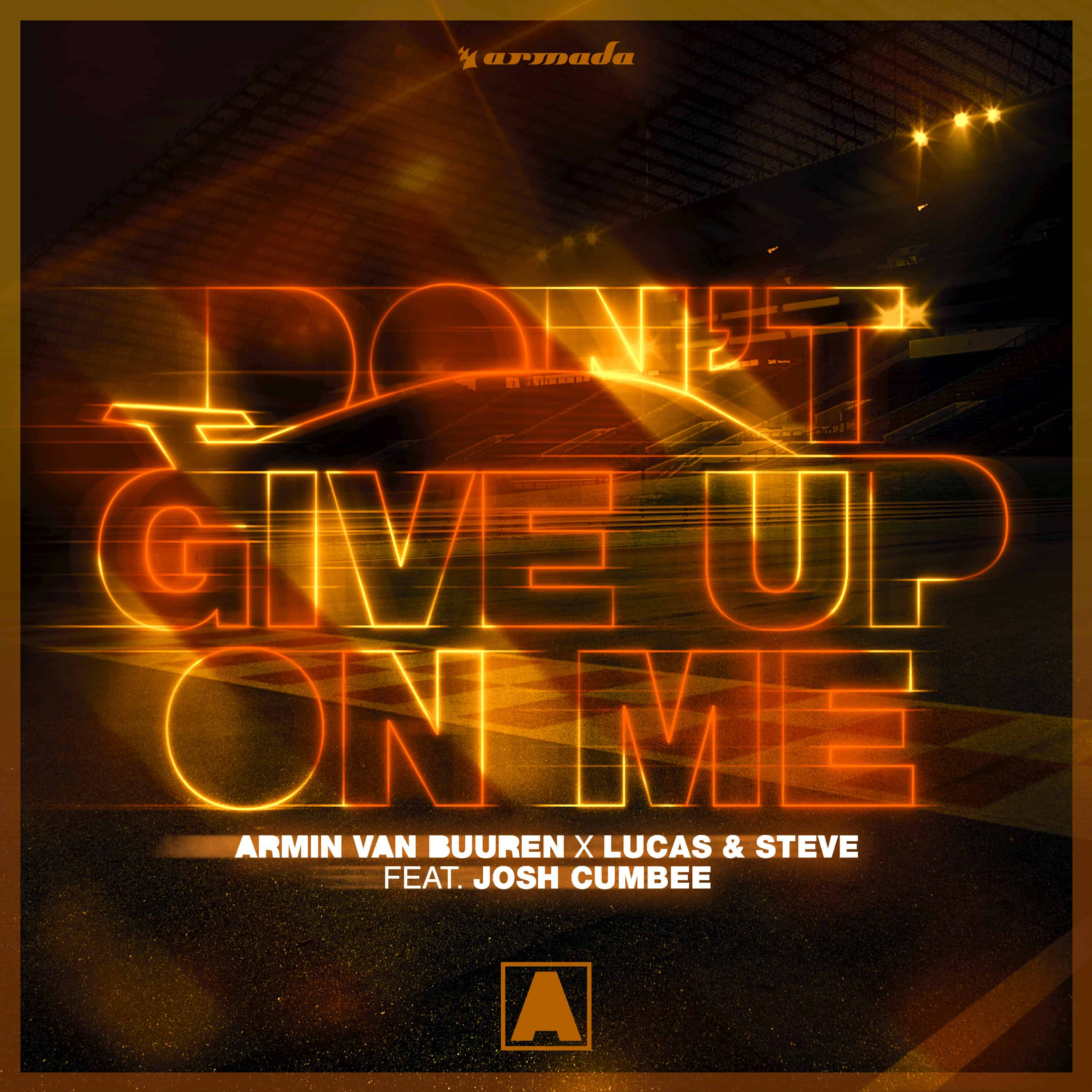 Armin van Buuren teams up with Lucas & Steve for 'Don't Give Up On Me'