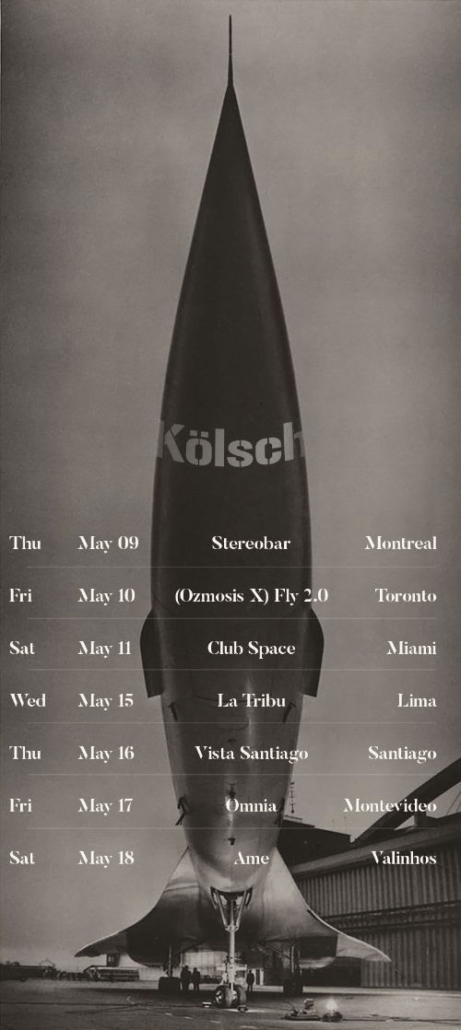 Kölsch reveals forthcoming North & South American tour dates