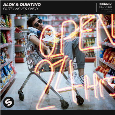 Alok and Quintino team up for lively collaboration 'Party Never Ends'