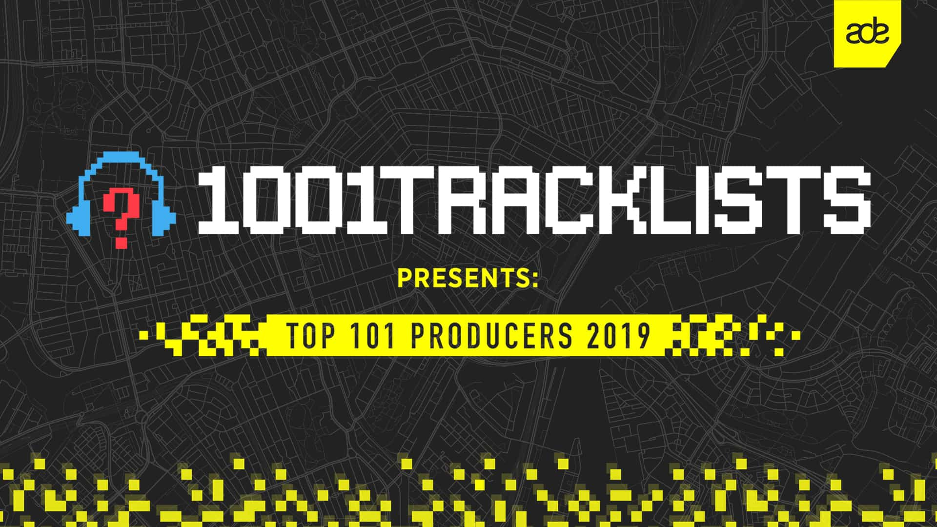 1001Tracklists Presents: Top 101 Producers first ever worldwide livestream during ADE 2019